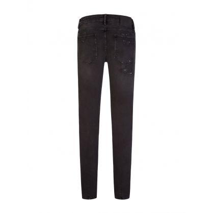 Black Skinny-Fit Iggy Jeans