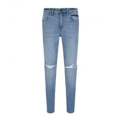 Blue Super Skinny Rebel Jeans