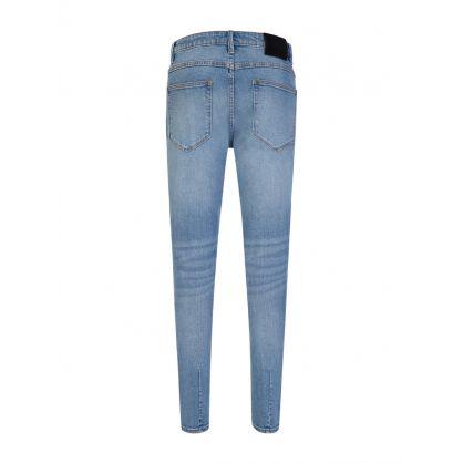 Blue Super Skinny Rebel Jeans