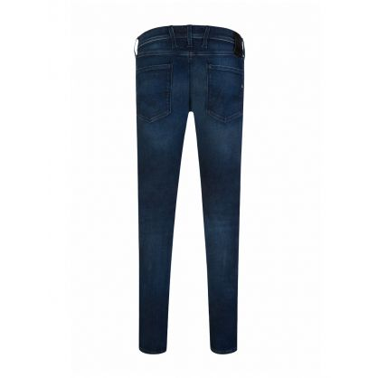 Blue Anbass Hyperflex Clouds Jeans