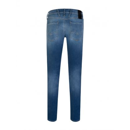 Reused Hyperflex Blue Super Stonewash Anbass Jeans