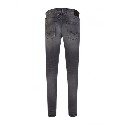 Grey Bronny Rip + Repair Jeans