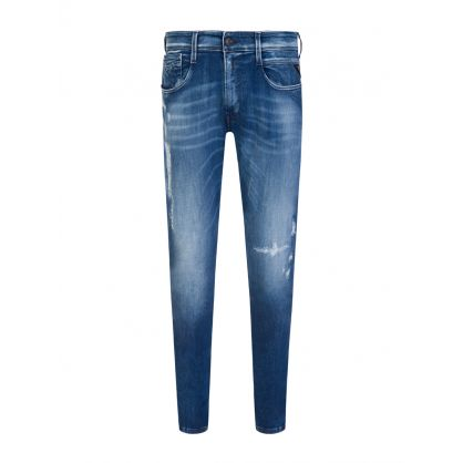 Blue Slim-Fit Bronny Jeans