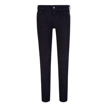 Dark Blue Anbass Slim Fit Jeans