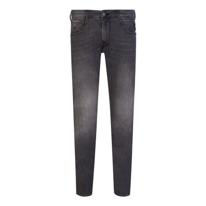Grey Slim-Fit Anbass Jeans
