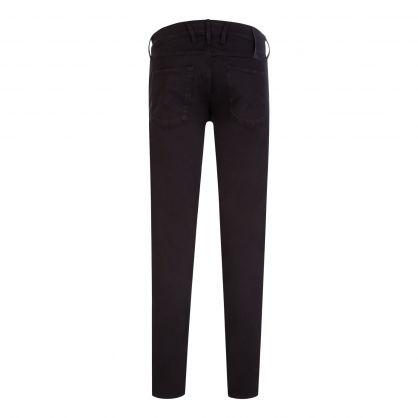 Black Anbass Slim Fit X-Lite Jeans
