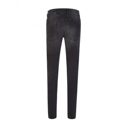 Grey Skinny-Fit Destroyer Denim Jeans