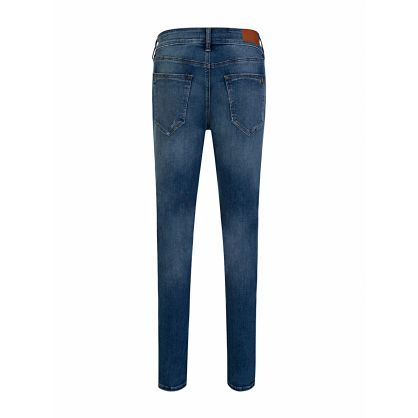 Blue Skinny-Fit Jack No Flap Tapered Jeans