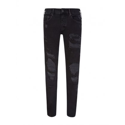 Black New Rocco Superdenim Jeans