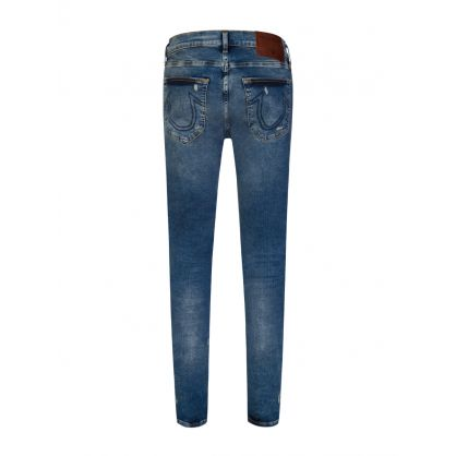 Blue Rocco Patch Traditional Jeans