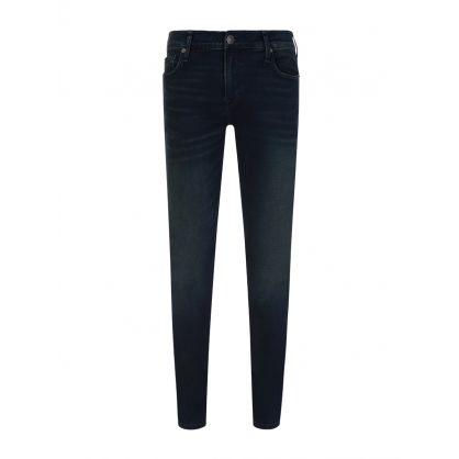 Navy Skinny-Fit Tony Renegade Jeans