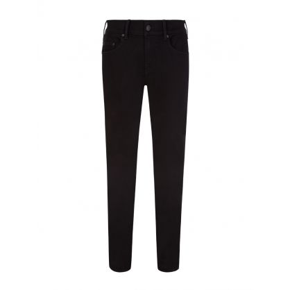 Black Rocco Relaxed Skinny Jeans