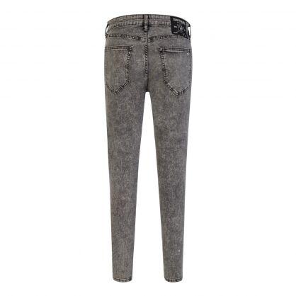 Grey Super Skinny Tapered Jack Jeans