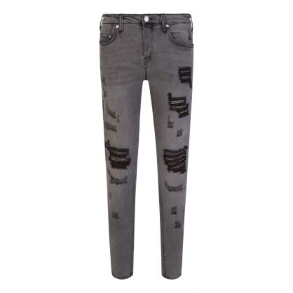 Grey Rocco Relaxed Skinny Jeans