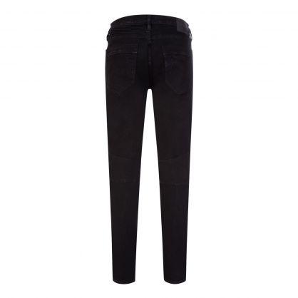 Black Rocco Moto Jeans