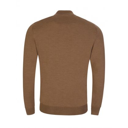 Brown Balonso Zip-Through Jumper
