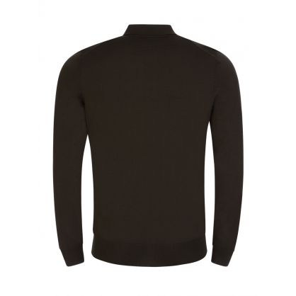 Green Bono Knitted Polo Top