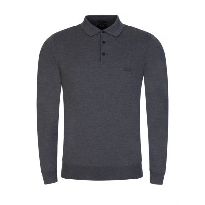Grey Bono Knitted Polo