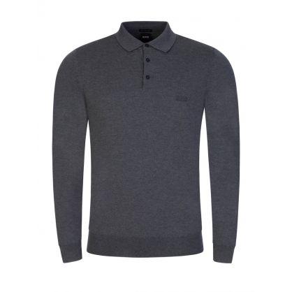Grey Bono Knitted Polo