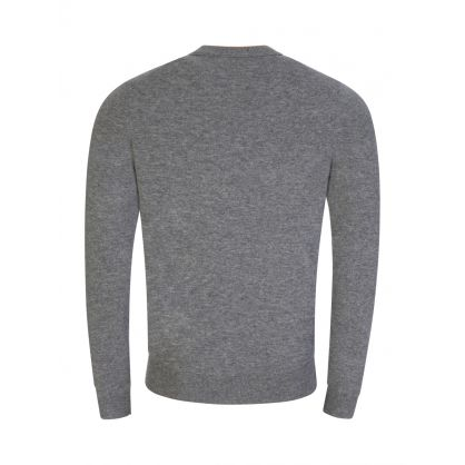 Grey Bacio Crew Neck Jumper