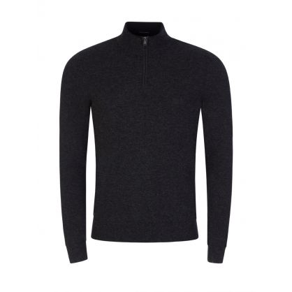 Grey Barlo 1/4 Zip Jumper