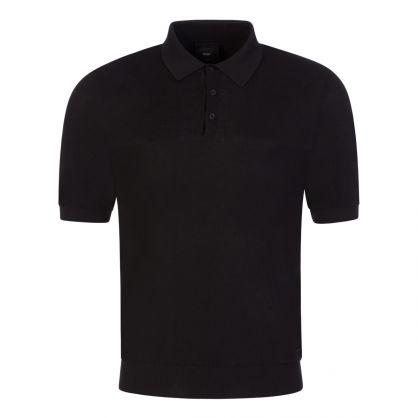Black Tailored T-Homeo Short-Sleeve Sweatshirt