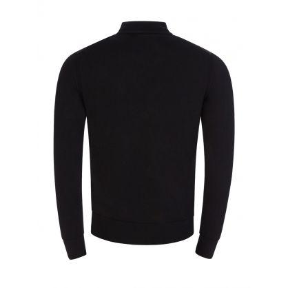 Black Kelby Zip-Through Cardigan