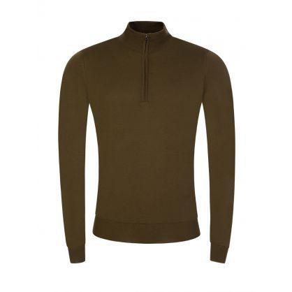 Green Barrow 1/4 Zip Pullover