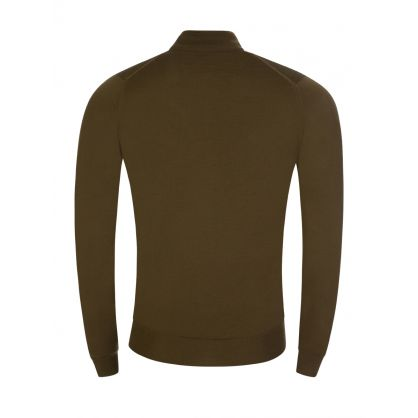 Green Barrow 1/4 Zip Pullover