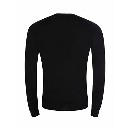 Black Knitted Lundy Pullover