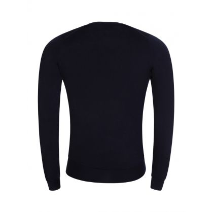 Navy Lundy Crew Neck Jumper
