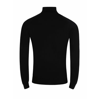 Black Knitted Connell Pullover