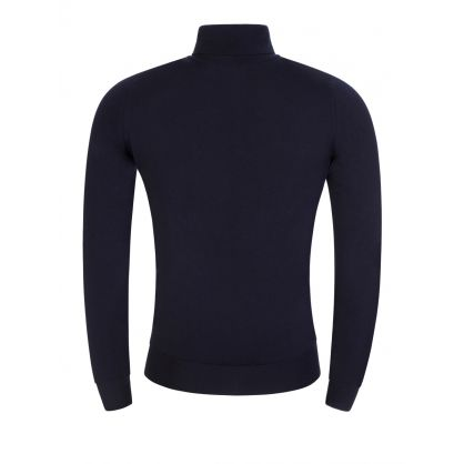 Navy Connell Roll Neck Jumper