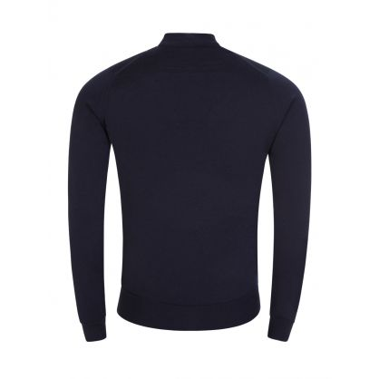 Navy Harcourt Mock Turtle Neck Pullover