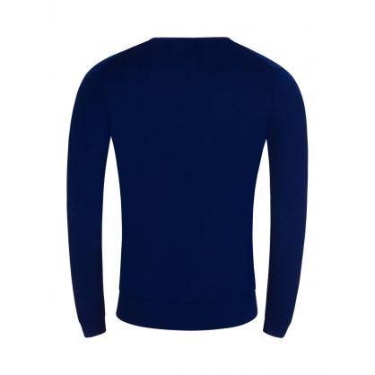 Blue Newman Merino Jumper