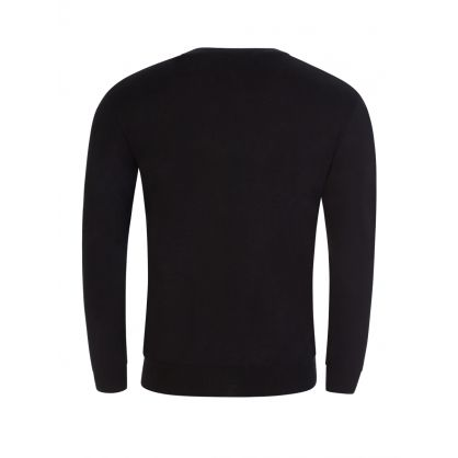 Black Bear Knitted Jumper