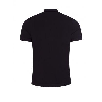 Navy Travel Knit Pocket Polo Shirt