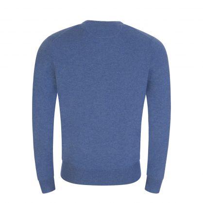 Blue Wool Jumper
