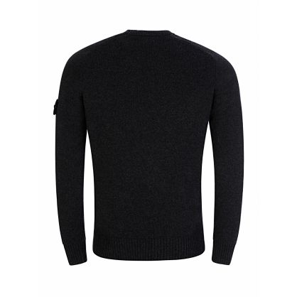 Charcoal Heavy Knit Jumper