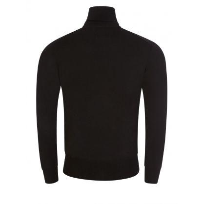 Black High Neck Knitted Jumper