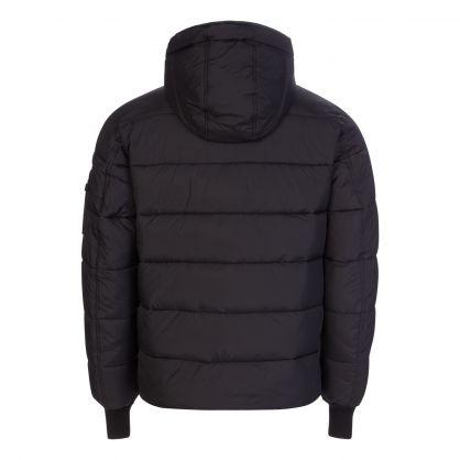 Black Hooded Puffer Alpha FD Jacket