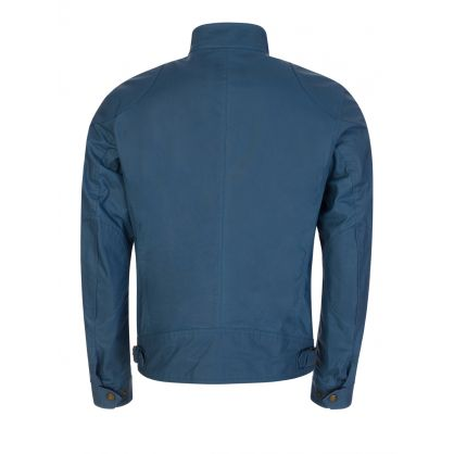 Blue Waxed Cotton Racemaster Jacket