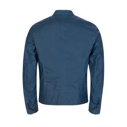 Kelland Waxed Cotton Blue Jacket