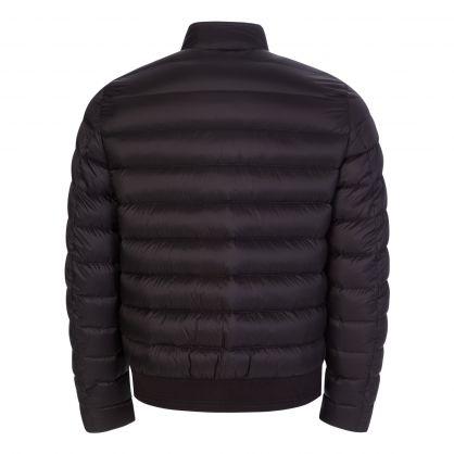 Black Down Filled Nylon Circuit Jacket