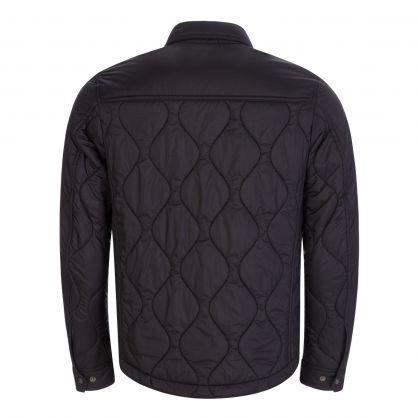 Black Wayfare Quilt Overshirt