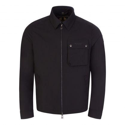 Black Lightweight Shell Wayfare Overshirt