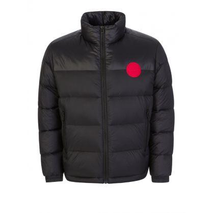 Menswear Black Biron2041 Puffa Jacket