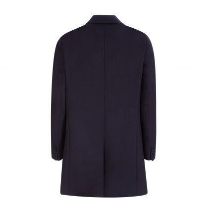 Navy Migor2141 Overcoat