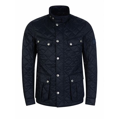 Navy Ariel Quilted Jacket