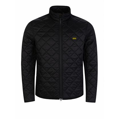 Black Gear Quilted Jacket